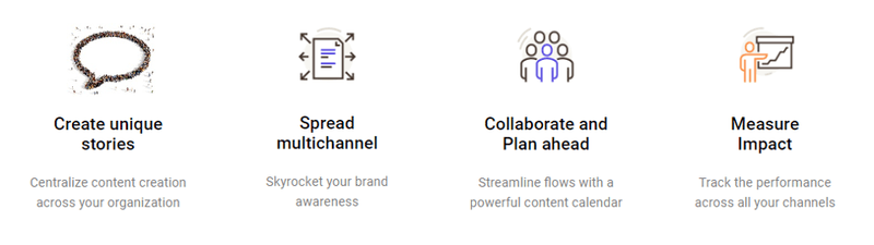 Storychief All-in-one Content Marketing Workspace and one-click multichannel distribution.