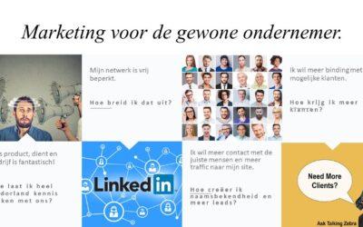"""LinkedIn tips voor de """"gewone"""" ondernemer."""